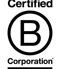We are a Certified B Corp!