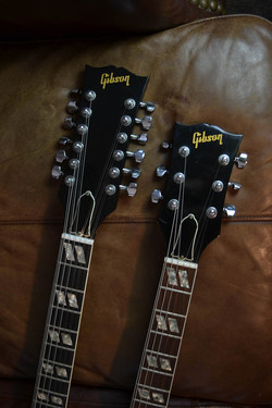 1982 GIBSON EDS-1275 BROWN NATURAL F