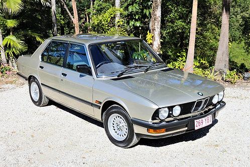 1985 BMW 520i - SOLD