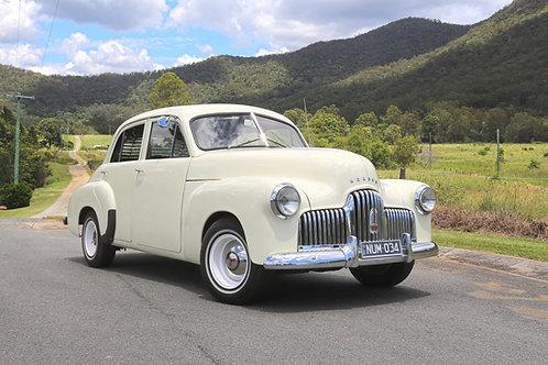 1948 Holden FX Sedan - Body No: 34