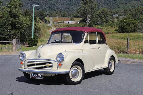1957 Morris Minor 1000 Convertible - SOLD