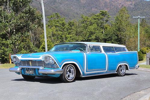 1957 Plymouth Suburban Custom Low Rider