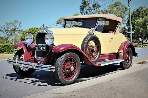 1929 Willys-Overland Whippet Six Model 28-A - SOLD