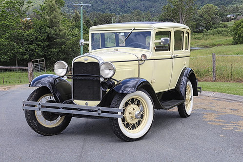 1931 Ford Model A Town Sedan - SOLD