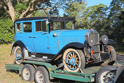 1929 Buick Master 6 Sedan - Holden Body RHD - SOLD