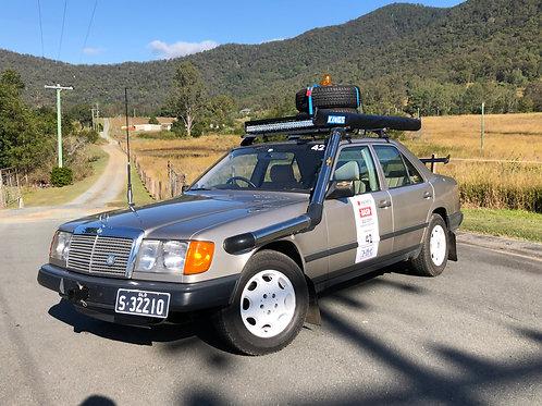 1986 Mercedes Benz 300E Bash/Rally Car