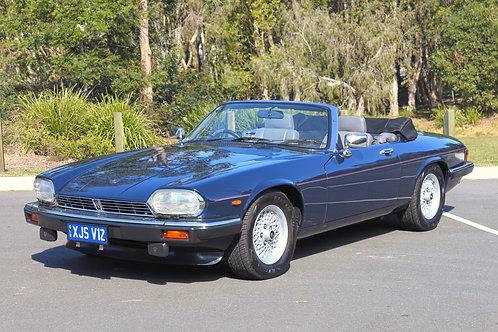 1989 Jaguar XJS Convertible V12 - SOLD