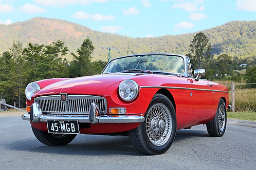 1971 MGB Roadster MK2 Overdrive - SOLD