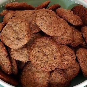 Kaffee-Haselnuss Cookies