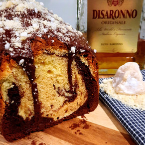 Amarettini Marmor-Cake @klauserei