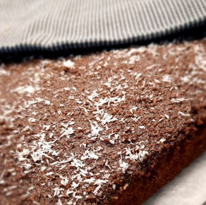 Kaffee-Kokos-Schoggi Blechkuchen @klauserei
