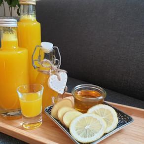 Ingwer-Zitronen-Honig Trunk