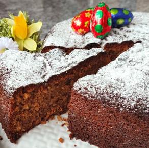 """Ostereili"" Kuchen - Schokolade-Haselnuss"