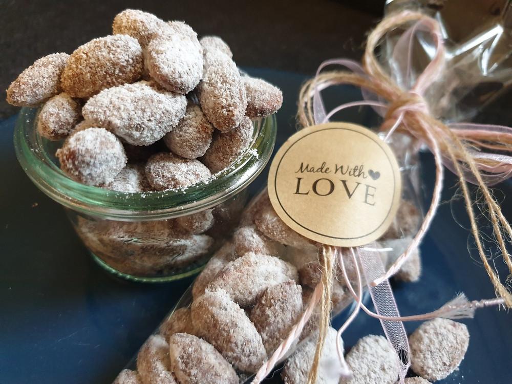 Schokoladenmandeln, Geschenkidee aus dem Thermomix