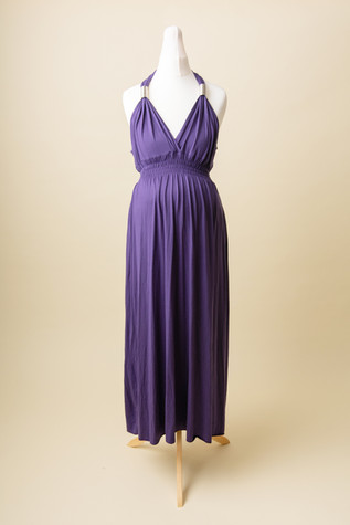 purple dress for photoshoot