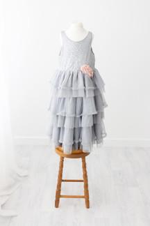 grey lace dress for photoshoot near skipton yorkshire