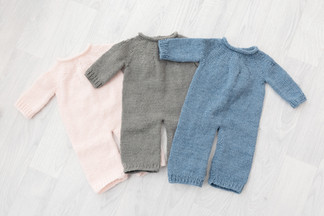 long sleeved knitted baby rompers for baby photos