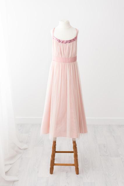 pink dress for girls photoshoot near burnley lancashire