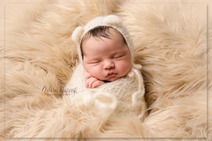 newborn photography session lancashire