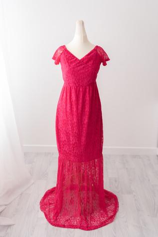 pink photoshoot ladie dress