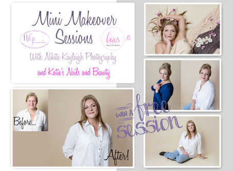 Mini makeover portrait session... studio photographer Colne, Lancashire