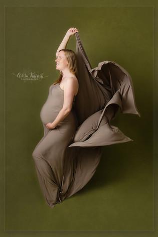 studio maternity photoshoot manchester