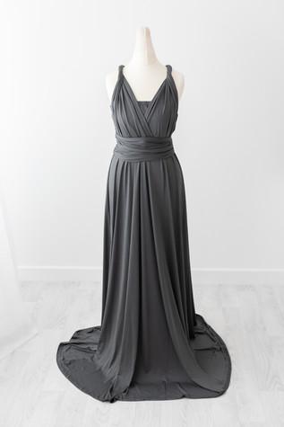 grey multiway dress
