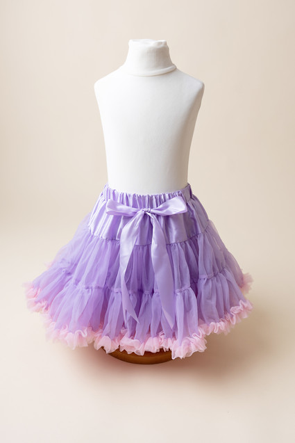 purple and pink tutu for cak smash photoshoot