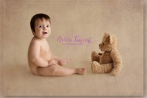 baby photoshoot lancashire