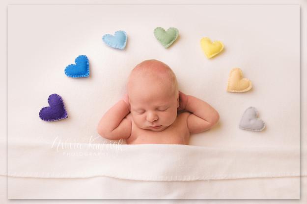 newborn baby photoshoot yorkshire