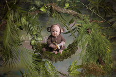 baby photoshoot skipton