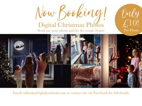 Your Digital Christmas Session with Nikita Kayleigh Photography