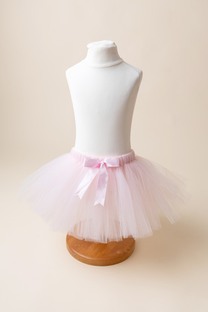 pink tutu for cake smash photos in barnoldswick lancashire