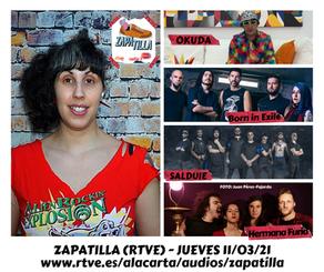 STREET ART CON OKUDA Y MÚSICA ROCK Y METAL EN MI SECCIÓN DE ZAPATILLA (RTVE - RADIO 3 EXTRA)