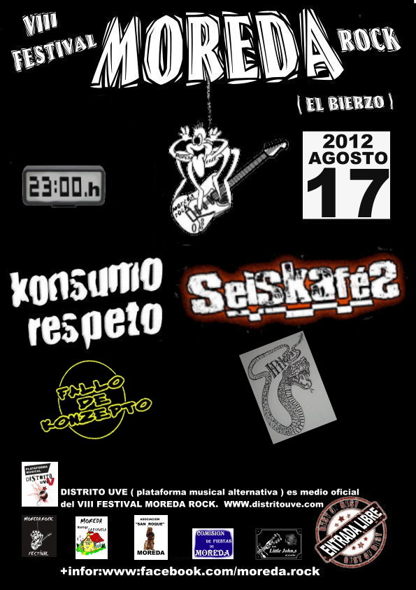 FESTIVAL MOREDA ROCK 2012