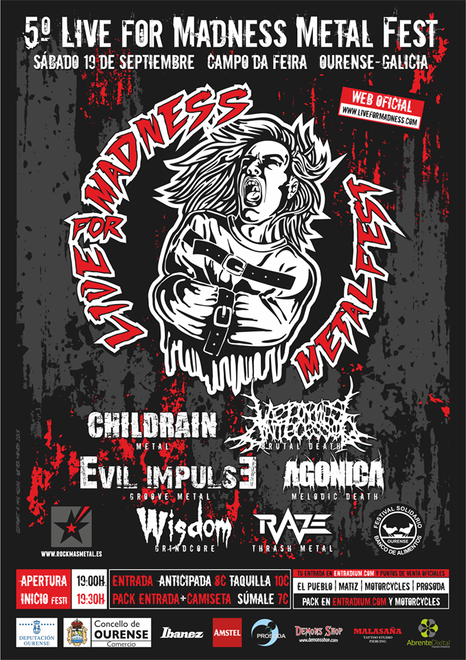 V LIVE FOR MADNESS METAL FEST