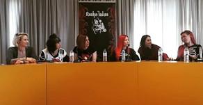 MESA REDONDA DE ROCKIN' LADIES EN MÓSTOLES: ASÍ LO VIVÍ