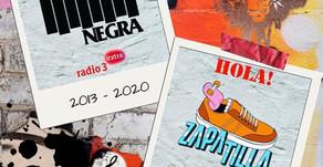 ADIÓS PODCAST BANDERA NEGRA, HOLA PROGRAMA ZAPATILLA EN RADIO 3 EXTRA Y RTVE