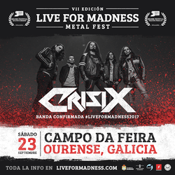 VII LIVE FOR MADNESS METAL FEST
