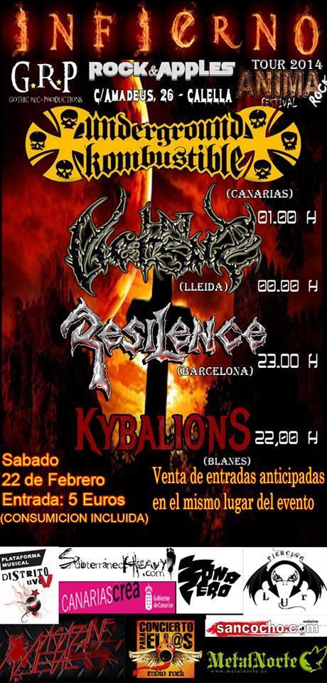 INFIERNO TOUR 2014