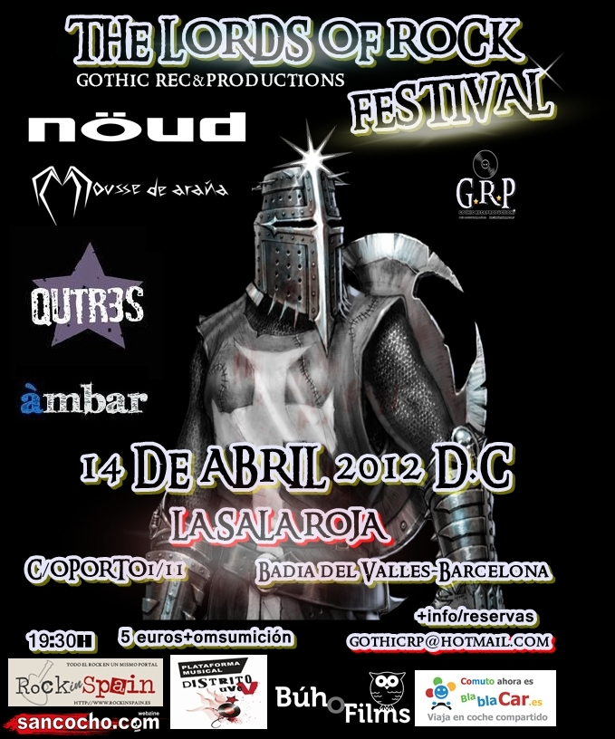 FESTIVAL LORDS OF ROCK 2012