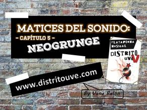 NEOGRUNGE EN MATICES DEL SONIDO: CAPÍTULO 5