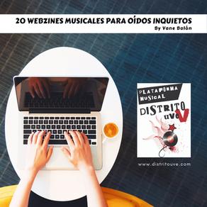 20 WEBZINES MUSICALES PARA OÍDOS INQUIETOS