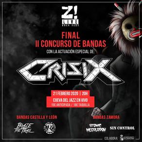 SOY PARTE DEL JURADO EN EL II CONCURSO DE BANDAS Z! LIVE ROCK