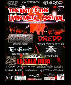 THE NIGHT OF THE LIVING METAL 2012