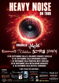 HEAVY NOISE ON TOUR 2014