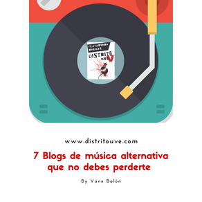 7 BLOGS DE MÚSICA ALTERNATIVA QUE NO DEBES PERDERTE