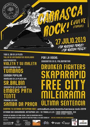 FESTIVAL CARRASCA ROCK: TODOS LOS DETALLES