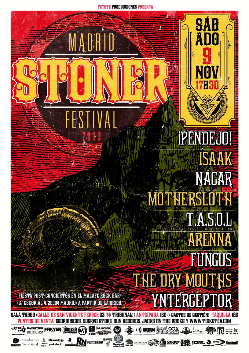 MADRID STONER FESTIVAL 2013