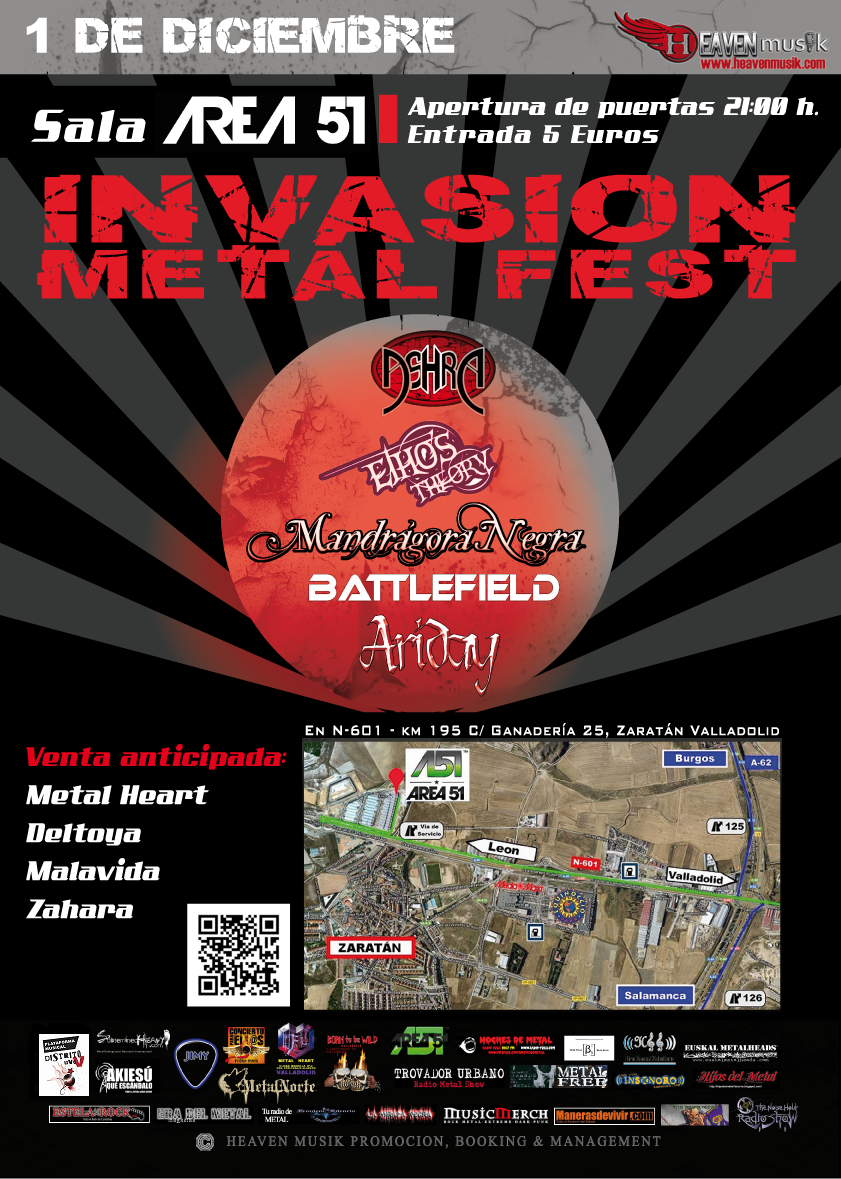 INVASION METAL FEST 2012